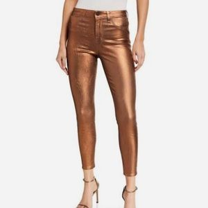 L'AGENCE Metallic Pants